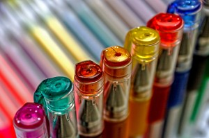 Colored pens 1